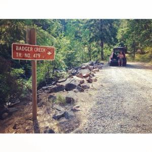 Badger Creek Trail Head
